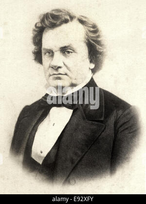 a biography of stephen a douglas an american politician Stephen douglas was an american politician - a u s senator and a democrat leader this biography profiles his childhood, political career, achievements, works, life and timeline.