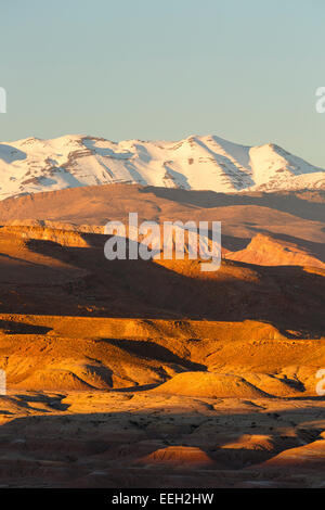 Mountains. Ait Ben Haddou. Morocco. North Africa. Africa - Stock Image