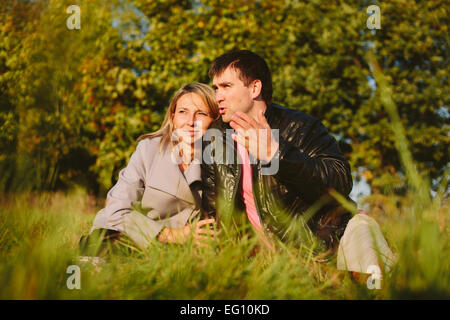 Young beautiful couple - Stock-Bilder