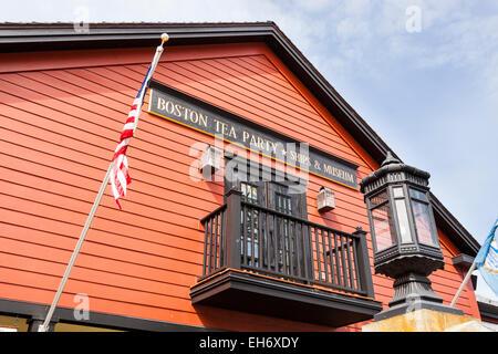 Boston Tea Party And Ships Museum Stock Photos & Boston ...