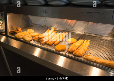 Fish And Chips Bar Stock Photos & Fish And Chips Bar Stock Images - Alamy
