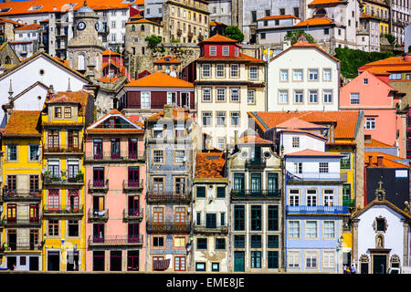 Porto, Portugal old buildings. - Stock-Bilder