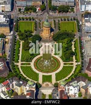 water-tower-and-park-friedrichsplatz-man