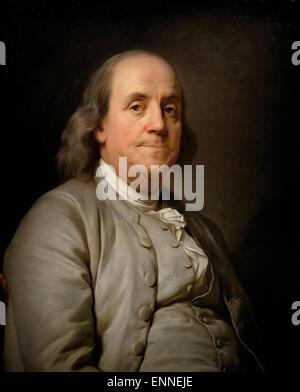 Benjamin Franklin, circa 1785 - Stock Image