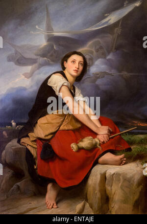 haircut boca raton joan of arc painting stock photos amp joan of arc painting 1852 | activemuseum 0006173jpg joan of arc listening his voices04122013 19th entaje