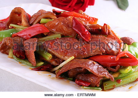 how to cook pig intestines
