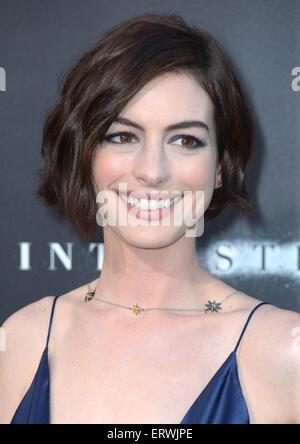 Actress Anne Hathaway, Los Angeles, CA - Stock-Bilder