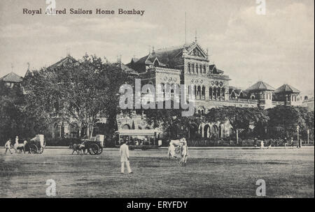 Royal alfred sailors home ; Old Bombay Mumbai ; Maharashtra ; India - Stock Image