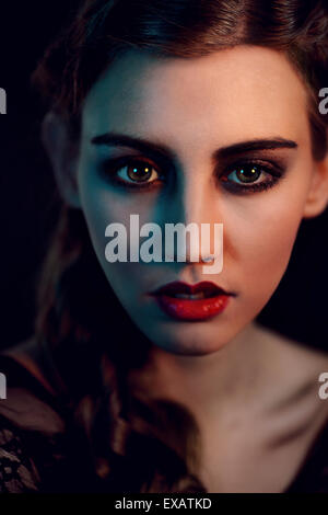 Woman, young, portrait, - Stock Image