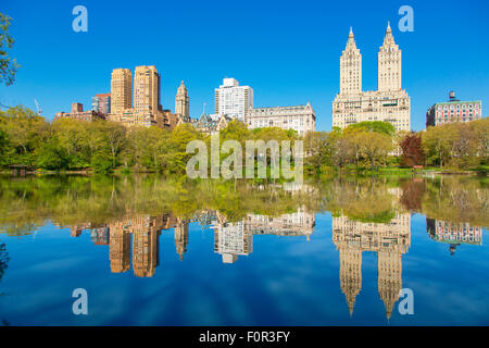 New York City, Skyline from central Park - Stock-Bilder