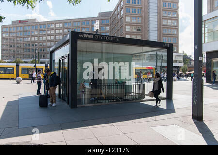 city toilet alexanderplatz stock photos city toilet alexanderplatz stock images alamy. Black Bedroom Furniture Sets. Home Design Ideas