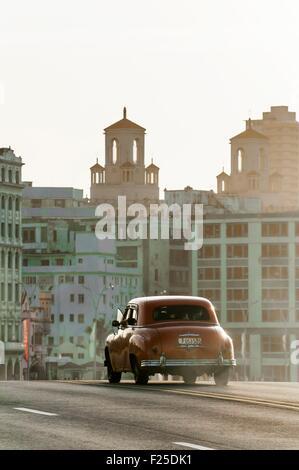 Cuba, Havana, Malecon, Habana Centro district - Stock Image