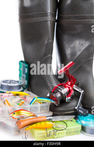 Clasp knife stock photos clasp knife stock images alamy for White fishing boots