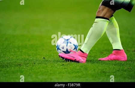 Moenchengladbach, Germany. 30th September, 2015. UEFA Champions League, 2015/16, prliminary round, 2nd matchday, - Stock-Bilder
