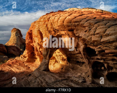 Rock formation. Valley of Fire State Park, Nevada - Stock-Bilder