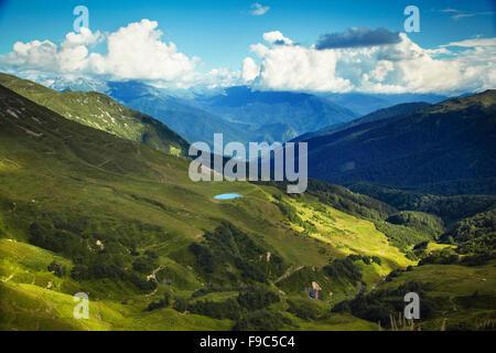Caucasus mountains. Abkhazia - Stock Image