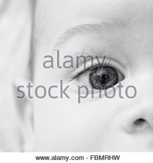 Cropped Image Of Human Eye - Stock-Bilder