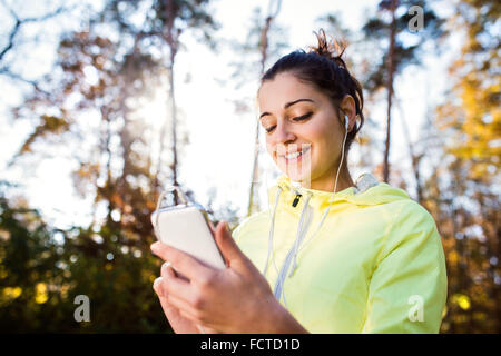 Young woman running - Stock-Bilder