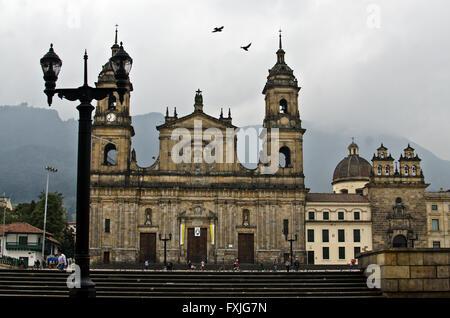 Plaza de Bolívar, Bogota, Columbia - Stock Image