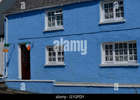 19th century town house in Ramelton, County Donegal, Ireland. - Stock Image