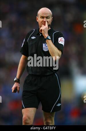 Soccer - Barclays Premier League - Blackburn Rovers v Stoke City - Ewood Park - Stock Image