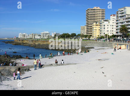 Sea Point, Cape Town. - Stock Image