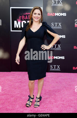 Los Angeles, California, USA. 26th July, 2016. Annie Mumolo at the Los Angeles premiere of 'Bad Moms' held - Stock-Bilder