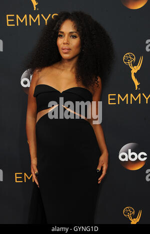 Kerry Washington at the 68th Annual Primetime Emmy Awards held at the Microsoft Theater in Los Angeles, USA on September - Stock-Bilder