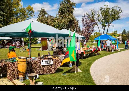 Culture Fest 2016 held in the Bethel Heritage Park, Winkler, Manitoba, Canada. - Stock-Bilder