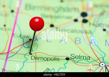 Alabama State Map Stock Photos Alabama State Map Stock Images - Alabama on map of usa