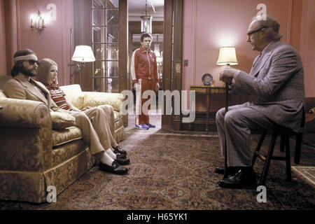 The Royal Tenenbaums, aka: Die Royal Tenenbaums, USA 2001, with Gene Hackman as Royal Tenenbaum and Ben Stiller - Stock Image