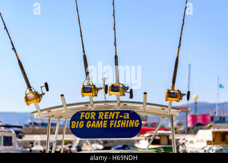 Game fishing stock photos game fishing stock images alamy for Fishing equipment rental