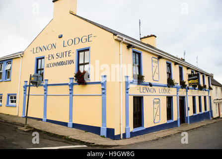 Lennon Lodge, Ramelton, County Donegal. - Stock Image