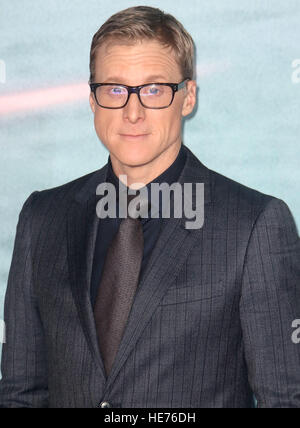 Dec 13, 2016  - Alan Tudyk attending 'Rogue One: A Star Wars Story' - Launch Event at Tate Modern in London, - Stock Image
