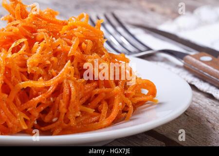 Пошаговые рецепты фото корейская морковка