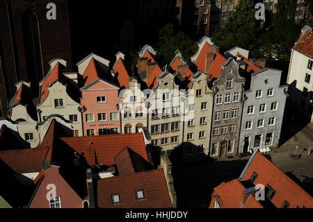 Poland. Gdansk. Historical center. - Stock-Bilder