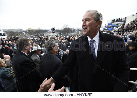 the presidential inauguration of george w bush Bush became president after one of the most contentious elections in modern history, and gave a speech focused on civility.