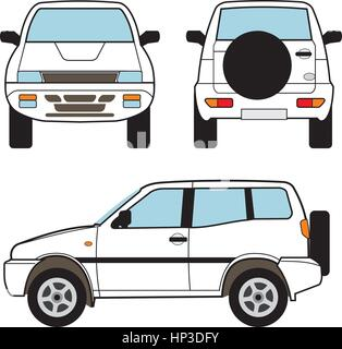 Suv Car Stock Vector Images Alamy