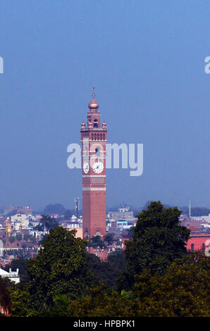 The Husainabad Clock Tower in Lucknow. - Stock Image