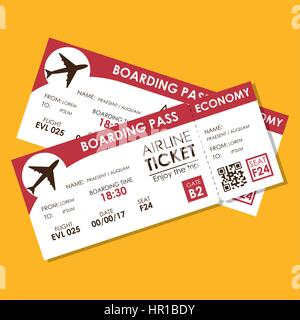 Airline Boarding Pass Stock Photos Amp Airline Boarding Pass