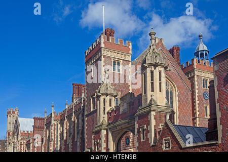 Lincoln's Inn viewed from Lincoln's Inn Fields - Stock Image