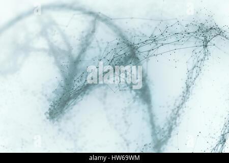 Deoxyribonucleic acid (DNA) molecule, illustration. - Stock-Bilder