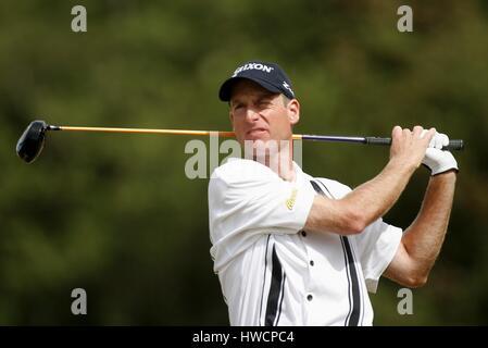 jim furyk usa royal liverpool golf club hoylake 23 july 2006 stock image