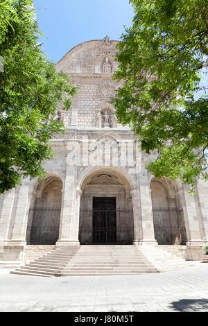 San Nicola Church, Sassari, Sardinia - Stock Image