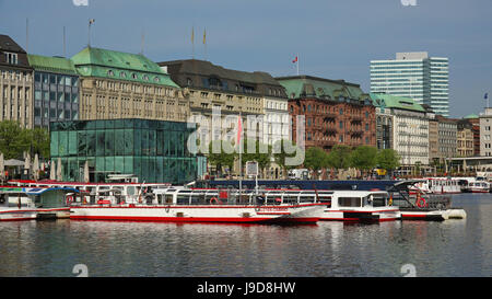 hamburg binnenalster stock photos hamburg binnenalster stock images alamy. Black Bedroom Furniture Sets. Home Design Ideas