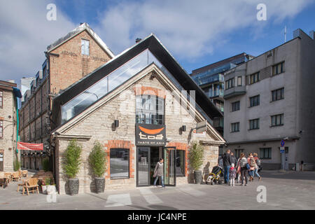 Modern Buildings in Rotermann quarter, Tallinn , Estonia, Baltic States, Europe - Stock-Bilder