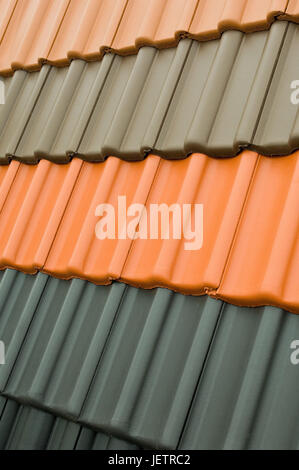 Grey shingles tiles roof stock photos grey shingles for Different roofing materials