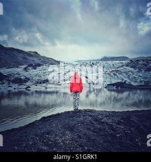 glacier in Iceland - Stock-Bilder