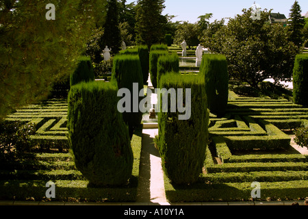 Labyrinth stock photos labyrinth stock images alamy for Jardines de las vistillas