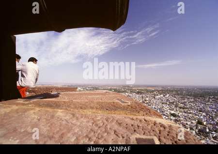 Travel photography from Rajasthan Jodhpur Northern India Asia - Stock Image
